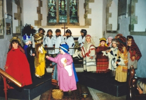Nativity with all children